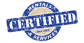 Certified Rentals & Services